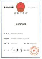 恒建脊之源商标注册证